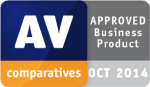 AV Comparatives Approved Business Product Oct 2014