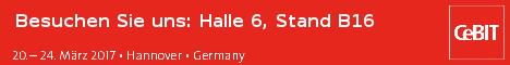 CeBIT 20.-24.03.2017 Halle 6 Stand B16